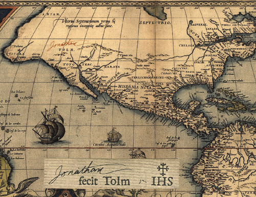 Map of Tolm